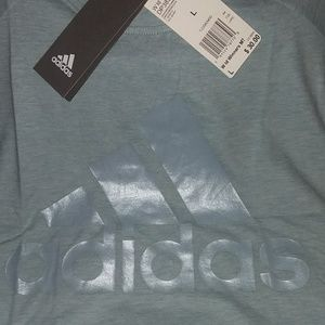 Adidas -ID Winners Muscle Tee- Ladies Large